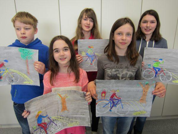 Künstlerinnen und Künstler der Klasse 5b