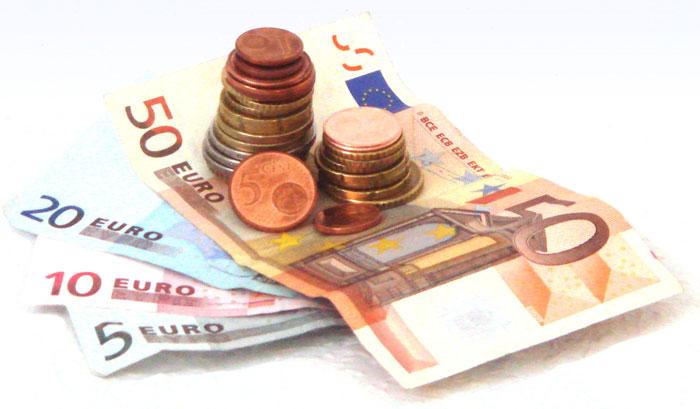 Geldscheine und Münzen Bild 1