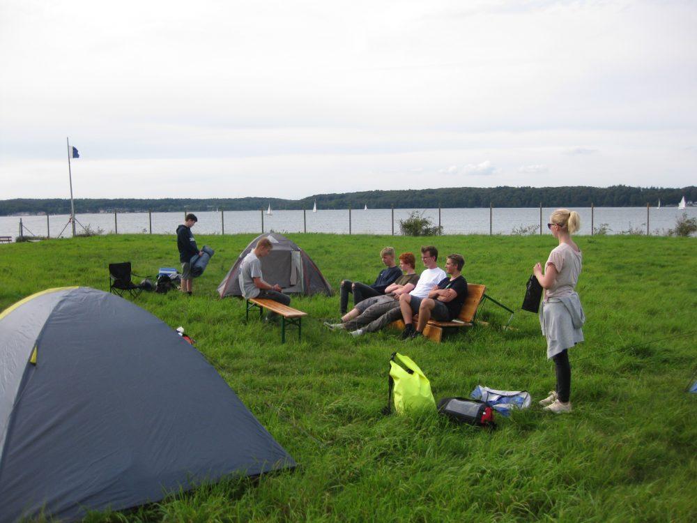 Entspannung im Zeltlager