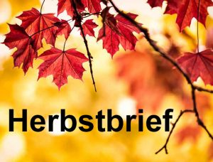 Link zum Herbstbrief unseres Schulleiters